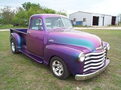 Challenge yourself with this 1953 Chevy pickup truck! 'bandit' jigsaw puzzle for free. Chevy Pickup Trucks, Classic Chevy Trucks, Chevy Pickups, Lifted Trucks, Old Trucks, Classic Cars, Chevy Stepside, Dually Trucks, Lifted Ford
