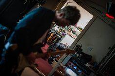 Noel gallagher in studio