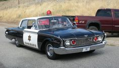 1960 Ford Fairlane 500 sheriff's car