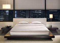 Resultado de imagem para quarto com cama japonesa