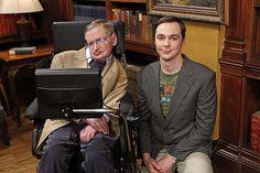 "Stephen Hawking e Jim Parsons gravam episódio de ""The Big Bang Theory"""