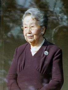 Yuriko, Princess Mikasa, the wife of Takahito, Prince Mikasa, the fourth son of Emperor Taishō and Empress Teimei. She is, therefore, a sister-in-law of Emperor Shōwa and an aunt of the present emperor, Akihito.