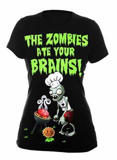 Plants vs Zombies Tshirt