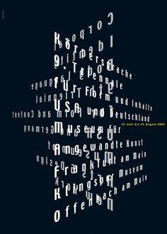 Loesch (Uwe, DE) 2003 Corporal Identity 9. Triennial für Form und INhalt Plakat A0   Flickr - Photo Sharing!