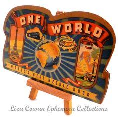 One World needle pack. Liza Cowan Ephemera Collections via Flickr