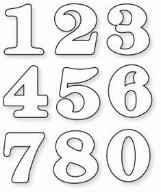 By the Numbers Mats Die Collection (set of Papertrey Ink Clear Stamps Dies Paper Ink Kits Ribbon Alphabet Letter Templates, Alphabet And Numbers, Number Stencils, Typography Alphabet, Printable Numbers, Quilling Cards, Vintage Lettering, Scrapbook Supplies, Bookbinding