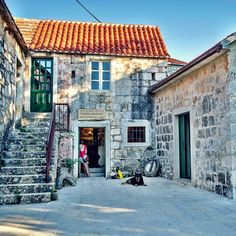 The Dračevica Heritage Center on the island of Brač, Croatia. #dracevica #bracisland #brac #architecture #sailcroatia