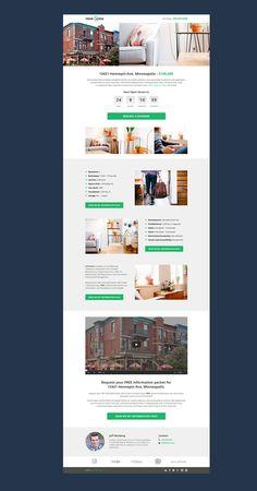 Real Estate Landing Page on Behance
