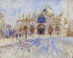 Venise : Place St Marc, 1881 - Auguste Renoir