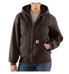 Carhartt - Women's Sandstone Active Jac/Quilted Flannel  I hope someone buys this for me for Christmas!