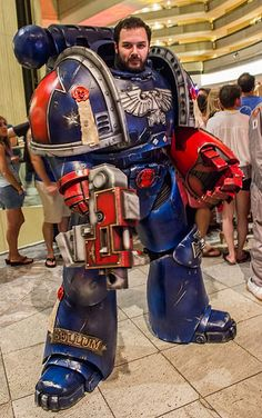 WH40k Crimson Fists Cosplay