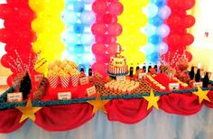 Vintage Carnival Theme Birthday Party Ideas | Photo 10 of 15 | Catch My Party