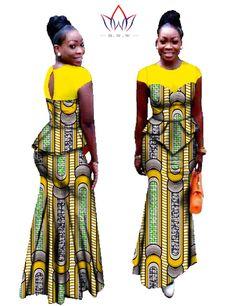 Vestidos Africa Clothing Two Piece Set Plus Size Dashiki African Clothing Women…