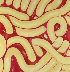 James Rosenquist, Spaghetti and Grass, 1964-65