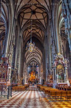simply about home: Spacerem po Wiedniu. /Katedra św. Szczepana/