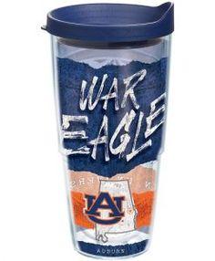 Tervis Auburn Tigers College Statement 24 Oz. Wrap W/ Lid