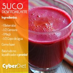 Detox Diets are great for cleansing out your body. You can detox regularly by using the detox diet plan as a regular part of your lifestyle. A proper detox diet will help you lose weight and will make you feel lighter and better than ever before. Smoothies Detox, Detox Drinks, Healthy Drinks, Healthy Snacks, Healthy Recipes, Eating Healthy, Super Dieta, Natural Body Detox, Vegan Detox