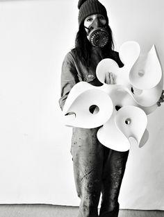 . Eva Hild Ceramic sculpture