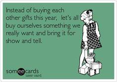 Christmas Gifting... Hahahahahaha!!