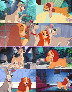 My favorite Disney couple. Disney And More, Disney Fun, Disney Movies, Walt Disney, Disney Dogs, Disney Parks, Disney And Dreamworks, Disney Pixar, Ghibli