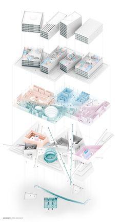 Gloriumptious - #Gloriumptious #architektonischepräsentation Gloriumptious - #Gloriumptious Architecture Concept Diagram, Architecture Presentation Board, Architecture Board, Architecture Graphics, Architecture Visualization, Architecture Drawings, Architecture Design, Architecture Diagrams, Presentation Boards