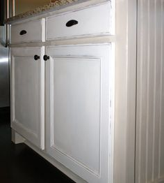 chalk paint cabinets - Google Search