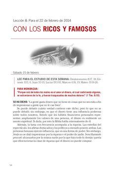 Leccion con los ricos y famosos by Escuela Sabatica via slideshare. Descarga aqui: http://gramadal.wordpress.com/