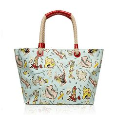 Aqua World is your Oyster Large Florence Tote