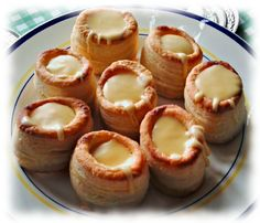 Vol-au-vent con fonduta by Follies of Cooking