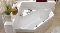 Salle de bains baignoire en angle