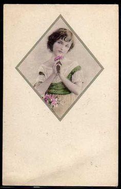~BM166 VIENNE Style Portrait de FILLETTE MEDAILLON~