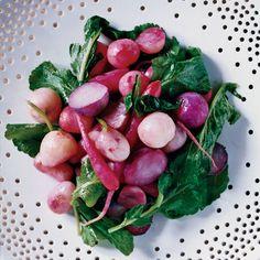 Roasted Radishes with Radish Greens // More Great Radish Dishes: http://www.foodandwine.com/slideshows/radishes #foodandwine