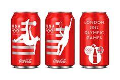 Fancy - Limited Edition Team USA Coca-Cola Design by Turner Duckworth