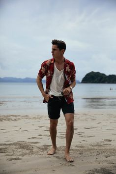 men's beach outfit - Tap the link to see the newly released collections for amazing beach jewelry! :D