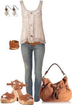 """out and about"" by johnna-cameron on Polyvore"