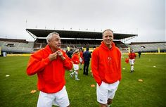 with Bergkamp