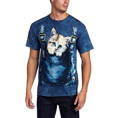 Men's kitty overalls shirt as gifts for cat lovers