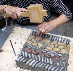 How to make a Pebble Mosaic