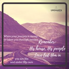 #loveleads #HishouseHispeople #Godwithus #CleanUpCrewWorker http://www.unshakenministries.com/2017/11/20/journeys-end/