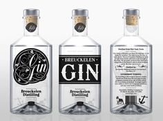 my home bar will be littered with gin Beverage Packaging, Brand Packaging, Packaging Design, Liquor Bottles, Vodka Bottle, The Bagel Store, Gin And Tonic, Tonic Water, Creative Industries