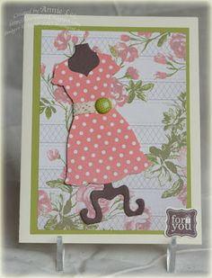 Love to Make Cards: Dress It Up!