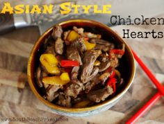 Delicious Asian Chicken Hearts  http://www.southbeachprimal.com/asian-chicken-hearts/