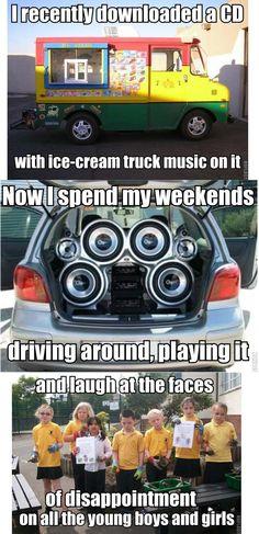 Ice Cream Van Trolling