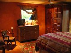 small orange adobe house - Google Search