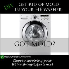 Got mold in your HE front load washer? Your not alone learn how to remove mold from your front loader
