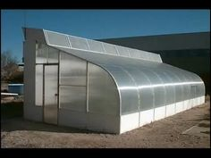 THIS THERMAL COOLED GREENHOUSE IN 1985 RAN FOR 7 YEARS, COOLED ITSELF DAY OR NIGHT WITH 3 SMALL AQUARIUM PUMPS