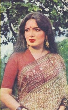 Picture of Parveen Babi Vintage Bollywood, Indian Bollywood, Bollywood Stars, Bollywood Fashion, Bollywood Heroine, Beautiful Bollywood Actress, Most Beautiful Indian Actress, 80s Actresses, Indian Actresses