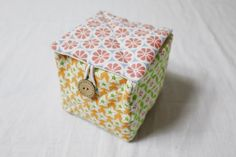 Fabric Gift Bag Tutorial. Photo Instructions DIY step-by-step.