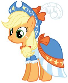 Apple Jack at Twilight's Princess Coronation! My Little Pony Fotos, My Little Pony Dress, Imagenes My Little Pony, My Little Pony Drawing, My Little Pony Pictures, My Little Pony Applejack, Hasbro My Little Pony, Applejack Mlp, Celestia And Luna