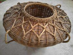 Large Vintage Native Basket by TradewindsFolkArt on Etsy
